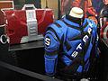 San Diego Comic-Con 2011 - Marvel movie prop replicas (Tony Stark's armor briefcase and racing suit) (5985864188).jpg