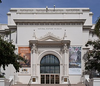 Clinton Gilbert Abbott - Image: San Diego Natural History Museum exterior