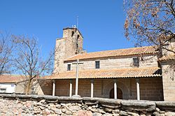 Church of San Fabián and San Sebastián, San García de Ingelmos, Ávila, Spain