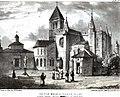 Santa María Antigua, Valladolid 1823 Edward Hawke Locker.jpg