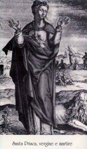 Paul the Apostle and women - Santa Prisca (Saint Prisca).