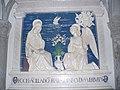 Santuario della Verna - 34 - Basilica - L'Annunciazione di Andrea della Robbia.JPG
