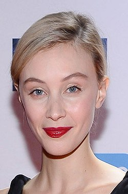 Sarah Gadon at the 2018 CFC Annual Gala & Auction (39406668215) (cropped).jpg