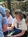 Sarah partaking in communion 2056 (498329953).jpg
