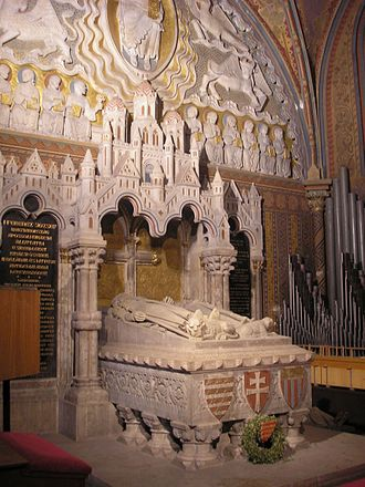 Béla III of Hungary - King Béla's III tomb