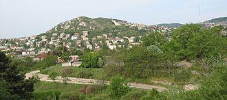 Sashegy - View to Sashegy from Gellérthegy