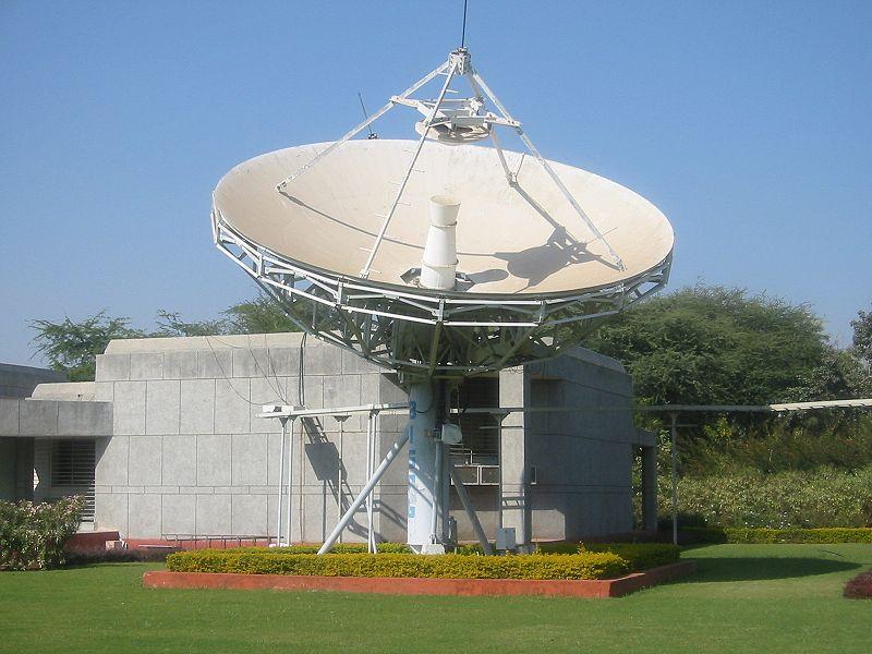 File:Satellite antenna Gandhinagar2.jpg