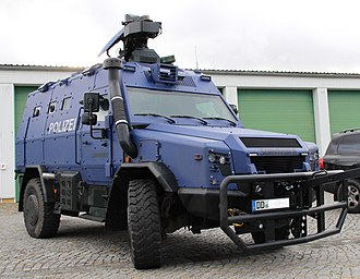 RMMV Survivor R - The first of two Saxony State Police Survivor R.