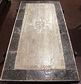 Scavi di santa reparata sotto il duomo di firenze, lastra tombale di simona vedova di ardingo de' ricci, 1363, 01.JPG