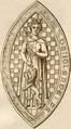 Sceau de Yolande d'Ecosse - Duchesse de Bretagne.png