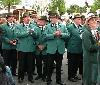 Schützenfest - Marksmen at a Schützenfest in Hannover