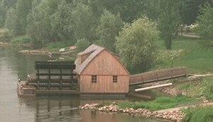 Westphalian Mill Route - Minden's ship mill (Schiffmühle)
