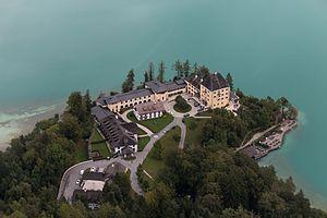 Schloss Fuschl - Seen from the air