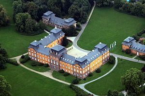 Kleinheubach - Schloss Löwenstein, residence of the Princes of Löwenstein-Wertheim-Rosenberg since 1720