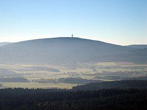 Schneeberg in October 2006