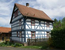 Kirchstraße in Schöllkrippen