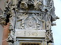 Schwabach Stadtkirche - Sakramentshäuschen 4a Schweißtuch.jpg