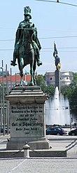 Reiterdenkmal am Schwarzenbergplatz in Wien (Quelle: Wikimedia)