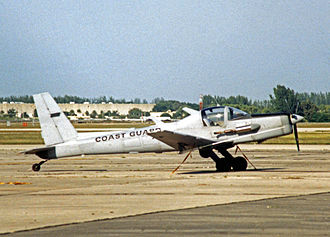 Schweizer SGM 2-37 - RG-8A surveillance aircraft of the US Coast Guard at Opa Locka, Miami, in 1989, wearing low visibility paintwork.