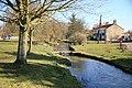 Scopwick village with postbox - geograph.org.uk - 1743092.jpg