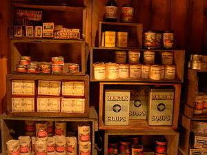 Kelly Tarlton's Sea Life Aquarium - Recreation of Robert Scott's pantry