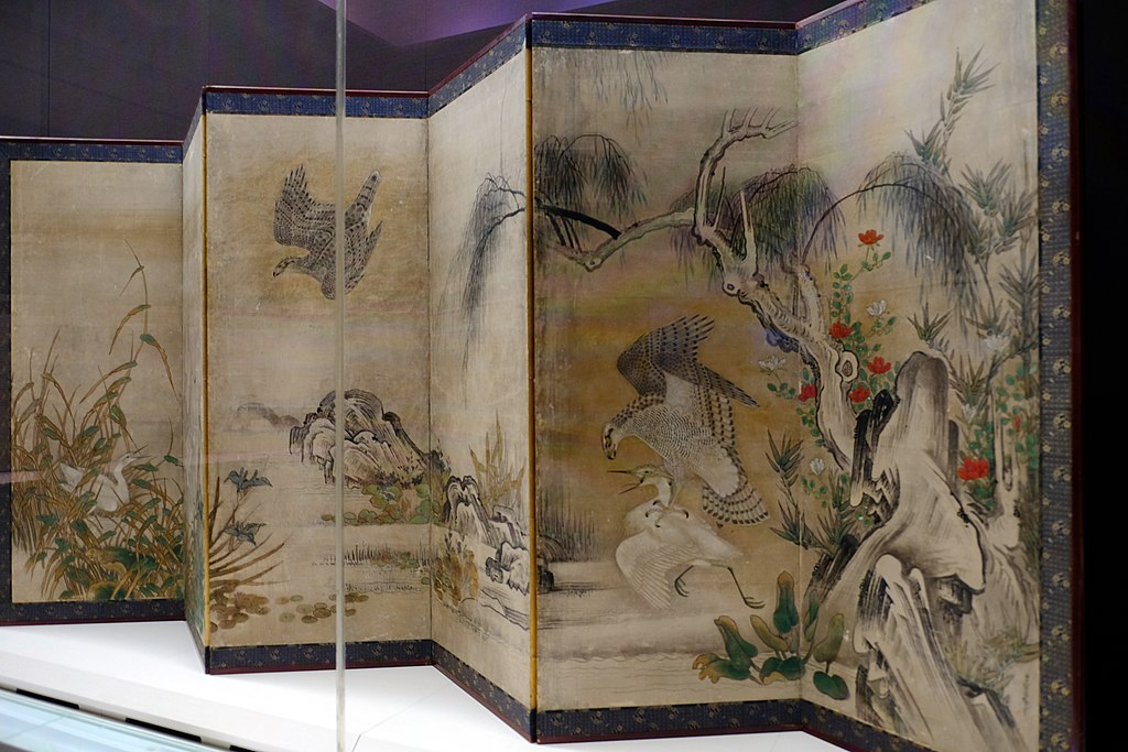 Screen in the Tokyo National Museum 03