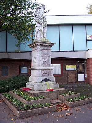 North Lincolnshire Museum - Image: Scunthorpe War Memorial geograph.org.uk 272415