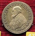 Scuola romana, medaglia di gregorio XIII, 1577, argento 2.JPG