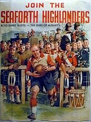Seaforth Highlanders recruiting poster