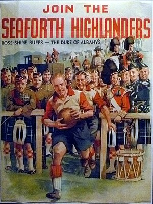 Seaforth Highlanders - Seaforth Highlanders recruiting poster