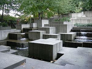 Freeway Park - Image: Seattle Freeway Park 24