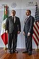 Secretary Pompeo Addresses the Press With Mexican Foreign Secretary Videgaray (43612553620).jpg