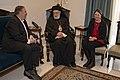Secretary Pompeo Meets With Greek Orthodox Bishop Elias Audi (47449174371).jpg