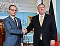 Secretary Pompeo Welcomes German Foreign Minister Maas to Washington (46129231094).jpg