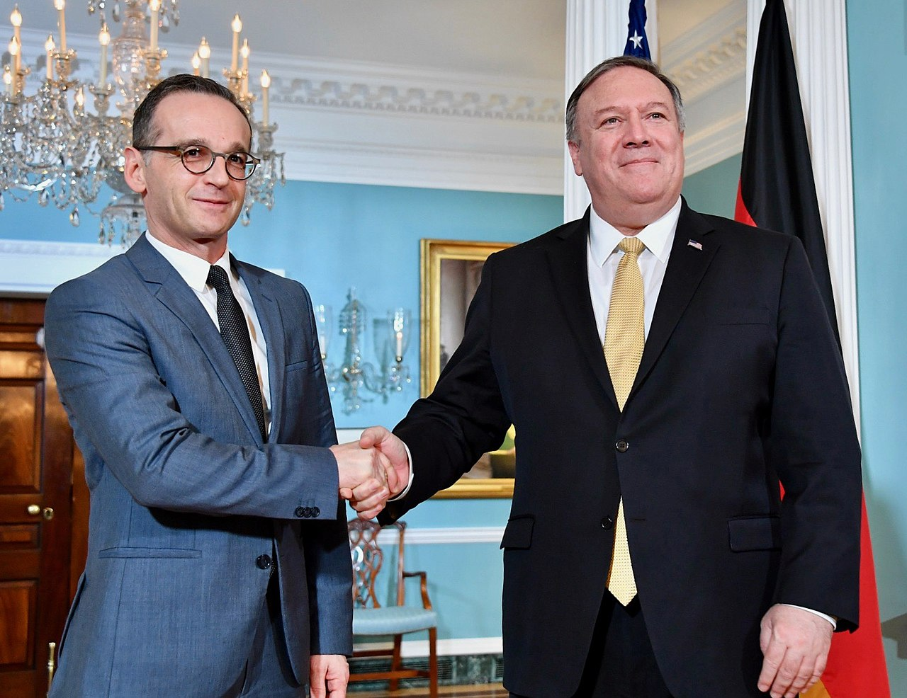 Secretary Pompeo Welcomes German Foreign Minister Maas to Washington (46129231094).jpg