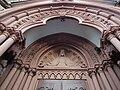 Segnender Christus Westfassade St Peter.JPG