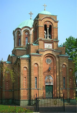 Bournville - Serbian Orthodox church in Bournville