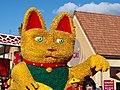 Sergines-FR-89-carnaval 2019-char Maneki-Neko 06.jpg