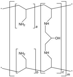 Strukturformel von Sevelamer