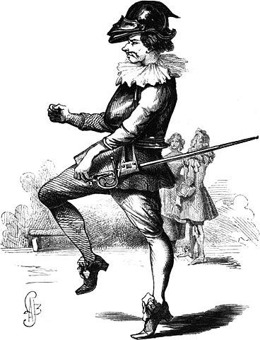 Персонаж Сганареля в парижском издании 1850 года