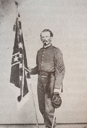 William Crawford Smith - William Crawford Smith in his Confederate uniform in 1863