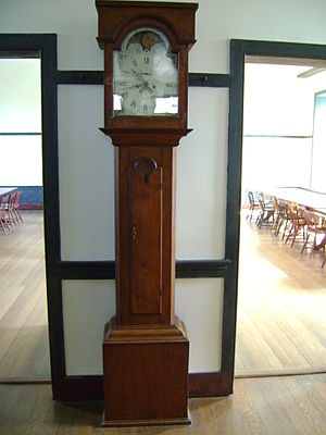 Shaker furniture - Image: Shaker clock