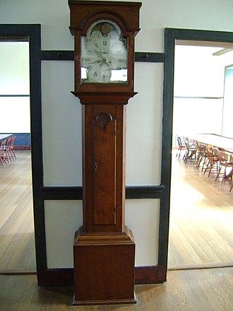 Shaker furniture - Image: Shaker clock