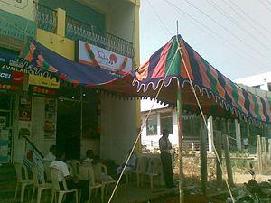 Shamiana - A Shamiana at Nagercoil