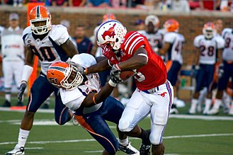 SMU Mustangs football - SMU in action versus UTEP in 2009