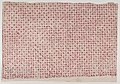 Sheet with a red geometric and floral pattern Met DP886800.jpg