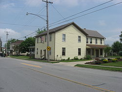 Streetside view of Shelby House in Botkins