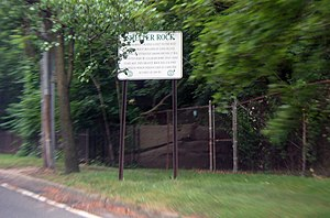 North Hills, New York - Shelter Rock, very close to the border between North Hills and Manhasset.