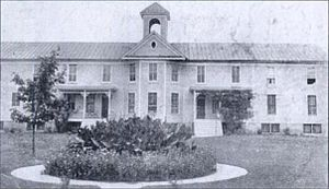 Seventh-day Adventist education - Image: Shenandoah Valley Academy pictured in 1924