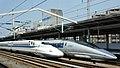 Shinkansen N700 & 500 (8086230565).jpg